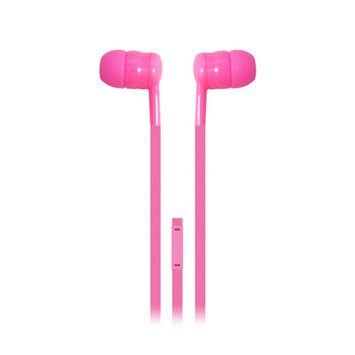 Iessentials Earbuds Headphones with Mic Color: Pink