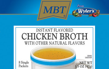 WYLER'S Instant 8 Ct Packets Chicken Broth 1.27 OZ BOX