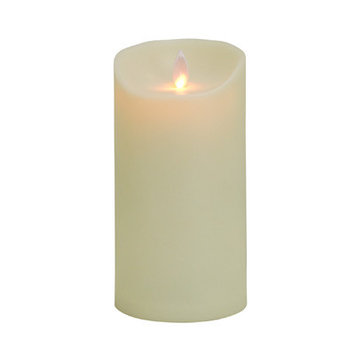 MYSTIQUE 21465 MYSTIQUE OUTDOOR FLAMELESS CANDLE 7 in. IVORY Pack of - 2