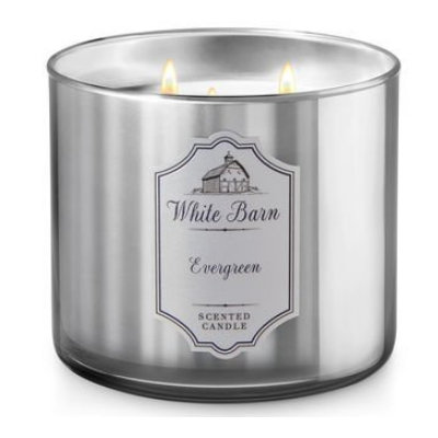 Bath & Body Works® Evergreen 3-Wick Scented Candle