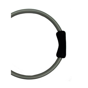 Yoga Direct Llc Yoga Direct Pilates Toning Ring With Black Cushioned Grips - Gray