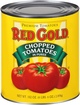 Red Gold® Chopped Tomatoes in Puree 102 oz.