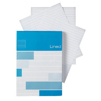 Alvin & Company Lined Pad - Size: 4.3 W x 6.7 D