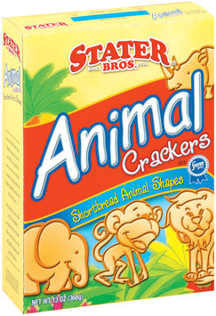Stater Bros. Shortbread Animal Crackers