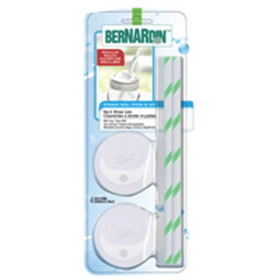 Bernardin Ltd. Lid Sip Straw Set