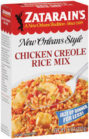 Zatarain's® Chicken Creole Rice Mix 8 oz. box