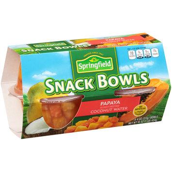Springfield® Papaya Snack Bowls 4-4 oz. Bowls