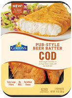 Gorton's® Pub-Style Beer Batter Cod 10 oz. Tray