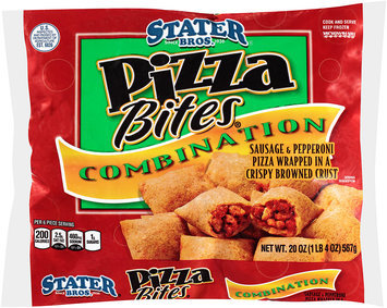 Stater Bros.® Pizza Bites® Combination 20 oz. Bag