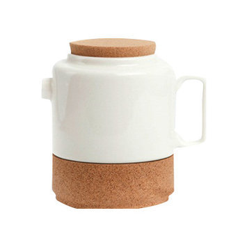 Amorim Cork Composites Pearl and Cork Teapot