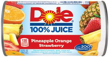 Dole® Pineapple Orange Strawberr Juice 12 fl. oz. Can