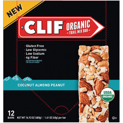 Clif Coconut Almond Peanut Organic Trail Mix Bar