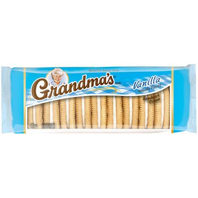 Grandma's® Vanilla Sandwich Creme Cookies 3.025 oz. Pack