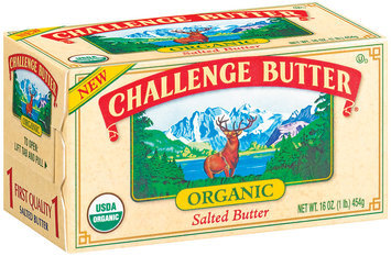 Challenge Organic Salted Butter 16 Oz Box