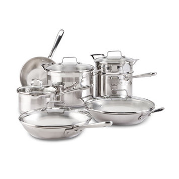 Emerilware 12-pc. Stainless Steel Cookware Set