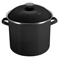 Le Creuset 12-Quart Stockpot in Black Onyx