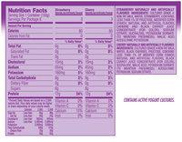 Light & Fit Greek Yogurt Strawberry/Cherry 5.3 Oz 6 Pk Cups