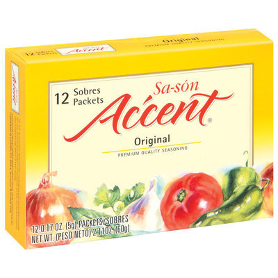Accent Sa-Son Original 0.17 Oz Packets Seasoning 12 Ct Box