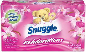 Snuggle® Exhilarations® Wild Orchid & Vanilla® Fabric Softener Dryer Sheets 105 ct Box