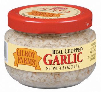 Gilroy Farms Real Chopped Garlic 4.5 Oz Jar