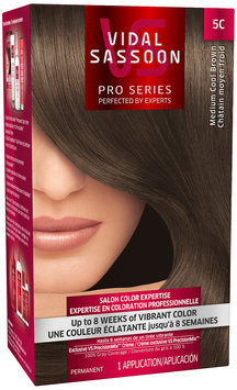 Vidal Sassoon Pro Series 5C Medium Cool Brown Hair Color Kit