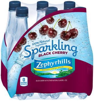 Zephyrhills® Sparkling Black Cherry Natural Spring Water