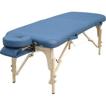 Best Massage Ergonomic Contours, Rounded Corners Custom Craftworks Heritage Table - Navy Blue