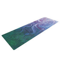 Kess Inhouse Electric Dreams II by Mat Miller Yoga Mat