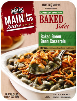 Reser's Fine Foods® Main St. Bistro® Baked Green Bean Casserole Baked Sides 20 oz. Tray