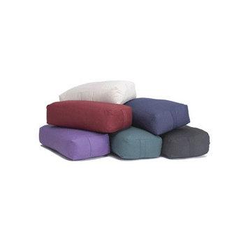 Yoga Direct Rectangular Cotton Yoga Bolster Color: Blue