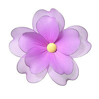 Heart To Heart Multi Layered Flower - Size: Medium, Color: Pink
