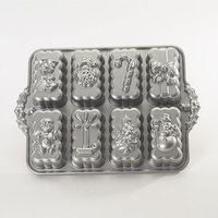 Delta Childrens Platinum Holiday Mini Loaves Cake Pan