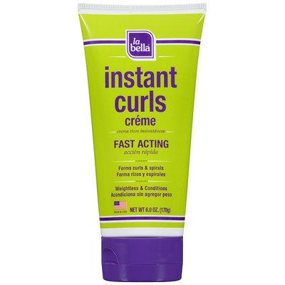 La Bella® Instant Curls Creme Fast Acting 6 oz. Tube
