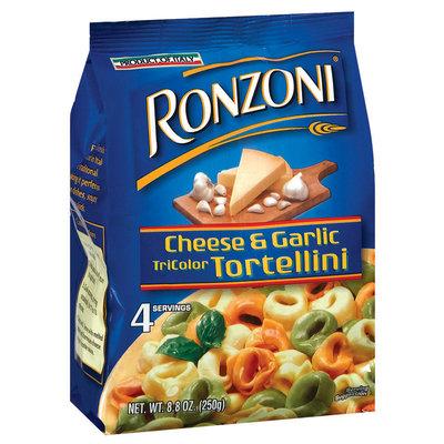 Ronzoni  Cheese & Garlic Tri Color Tortellini 8.8 Oz Bag