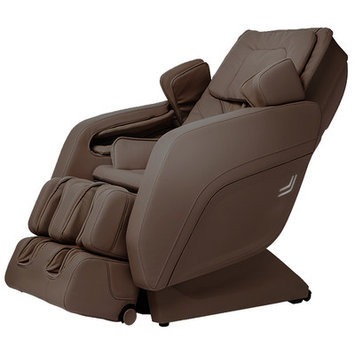 Titan Chair Zero Gravity Massage Chair Upholstery: Brown