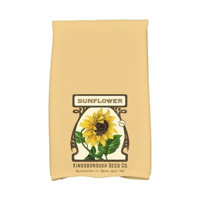 August Grove Sun Valley Sunflower Hand Towel Color: Gold