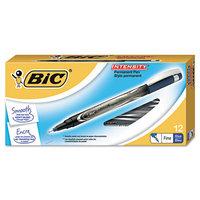 BIC Intensity Permanent Pen Fine Pt .5mm Blue.
