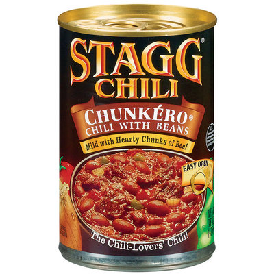 STAGG CHILI Chunkero W/Beans Chili 15 OZ CAN