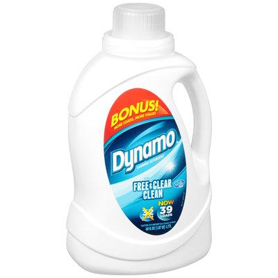 Dynamo® Free & Clear Clean Liquid Laundry Detergent 60 fl. oz. Jug