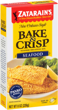Zatarain's® Bake & Crisp® Seafood Breading Mix 8 oz. Box
