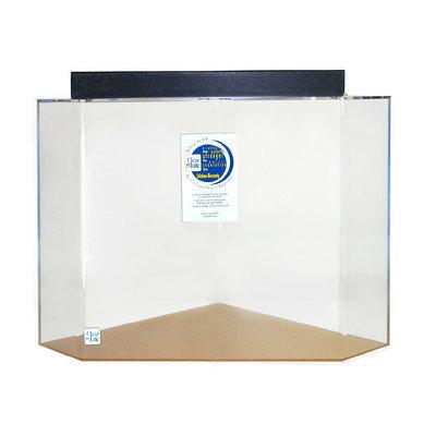 Clearforlife Pentagon Acrylic Aquarium Tank Color: Clear, Size: 30