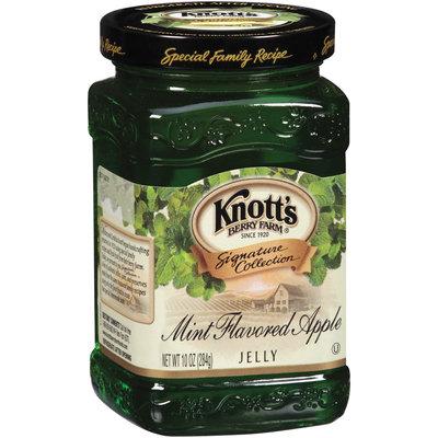 Knott's Berry Farm Mint Flavored Apple Jelly 10 Oz Jar