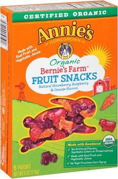 Annie's Homegrown® Bernie's Farm™ Organic Fruit Snacks