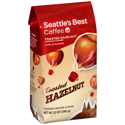 Seattle's Best Coffee™ Toasted Hazelnut Flavored Ground Coffee 12 oz. Bag