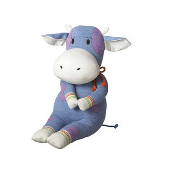 Midwest CBK 279441 Carlton Large Cow Acrylic Yarn And Magnet Toy