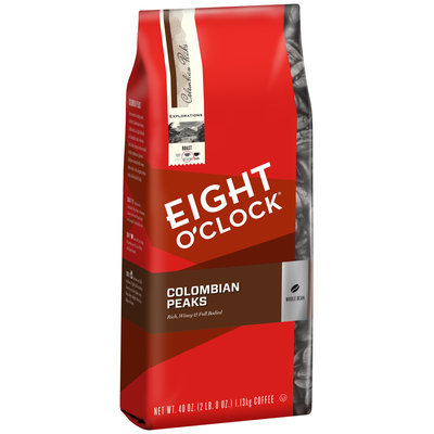 Eight O'Clock® Colombian Peaks Whole Bean Coffee 40 oz. Bag