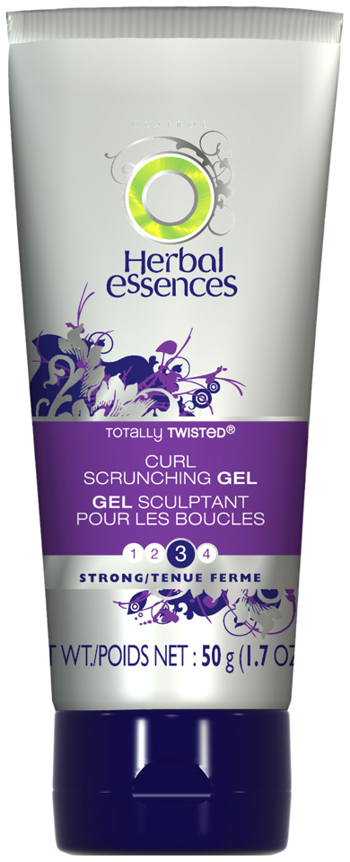 Herbal Essences Totally Twisted Curl Scrunching Extra Hold Hair Gel 1.7 oz. Tube