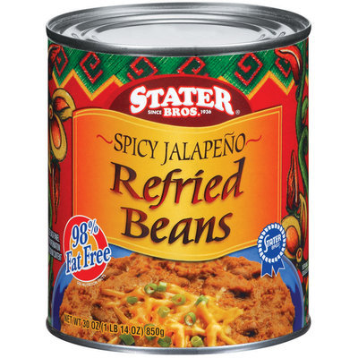 Stater Bros. Spicy Jalapeno Refried Beans