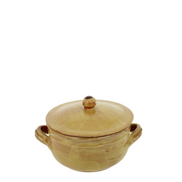 French Home Soup Pot with Faucet Size: 5