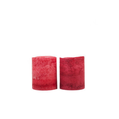 Theamazingflamelesscandle Flameless Votive Candles Color: Cranberry